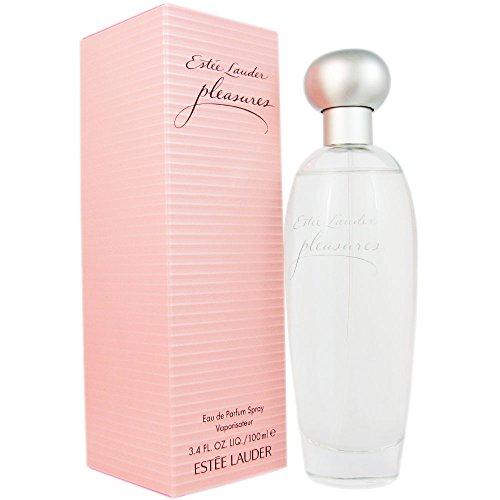 Estee Lauder Pleasures Eau De Parfum Spray 100ml/3.4oz (Pleasures Lauder By Estee)