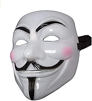 Dream Loom V de Vendetta Máscara,Guy Fawkes Disfraces de Halloween ...