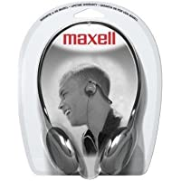Maxell NB-201 Stereo Neckbands Headphone, Wired Connectivity 190316 by Maxell