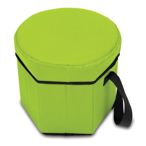 ONIVA – a Picnic Time Brand Bongo Insulated Collapsible Cooler, Lime
