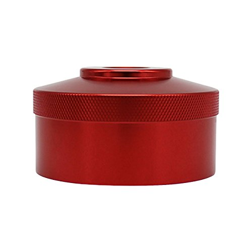 E-cowlboy Red Aluminum Extended Run Gas Cap for Honda Generator EU2200I EU2000i EU1000i Fits 1/4″ NPT Line (One Gas Cap)