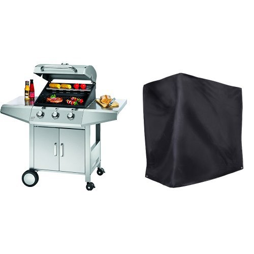 Profi Cook PC-GG 1057 Gasgrill 3-Brenner - Ultranatura Barbecue Grill Hülle Chateau