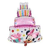 1 piece New Mickey Minnie Birthday cake head foil