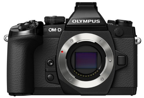 Olympus OM-D E-M1 Mirrorless Digital Camera with 16MP and 3-Inch LCD (Body Only) (Black) by Olympus