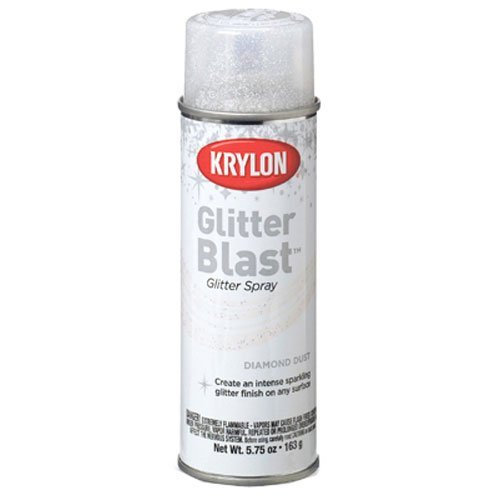 krylon spray paint glitter - 1