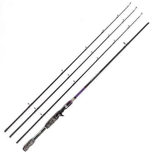 JOHNCOO 7 Carbon Baitcasting Fishing Rod M MH ML Power Bass Fishing Rod