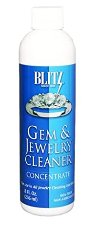 Blitz Gem & Jewelry Cleaner Concentrate (8 Oz) - Jewelry