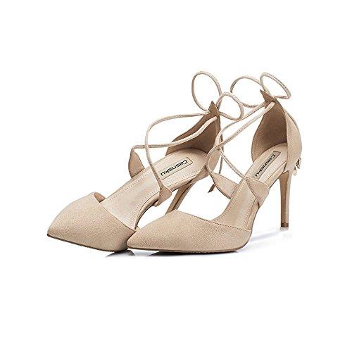 Nude Color 80Off Zapatos 5cm10 5cm Los Y Gaihu 8 De Europa vYbyIf76g