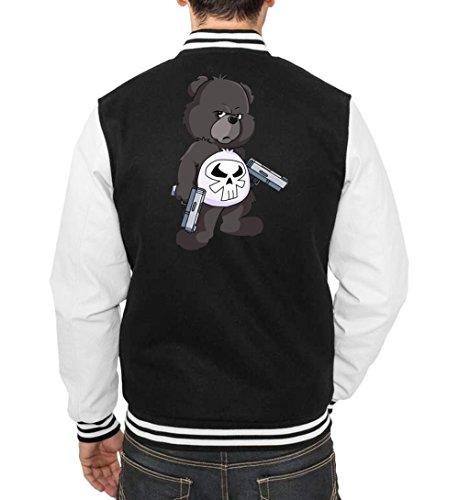 Freak Certified Nero Vest Bear College Punisher TOqwFPYg