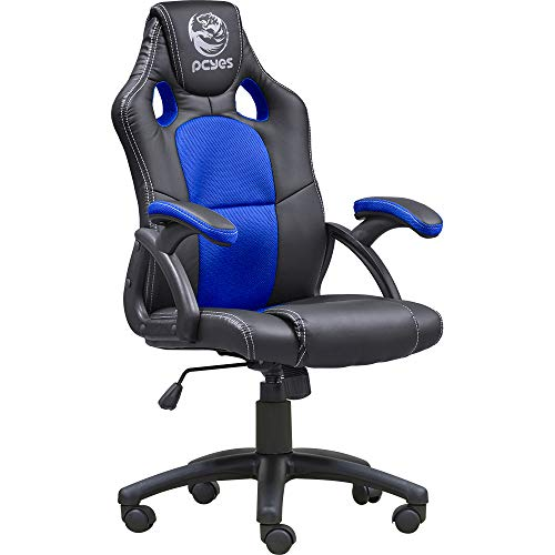Pcyes Mad Racer V6 Gaming Chair Racing Style Office Computer Desk Ergonomic Chair ()