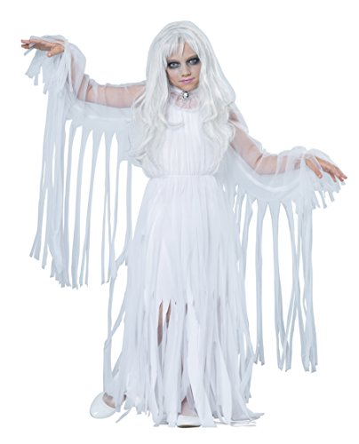 California Costumes Ghostly Girl Child Costume, -