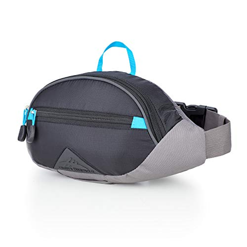 511d50475c High Sierra HydraHike 1.5L Hydration Waist Pack: Black/Slate/Pool