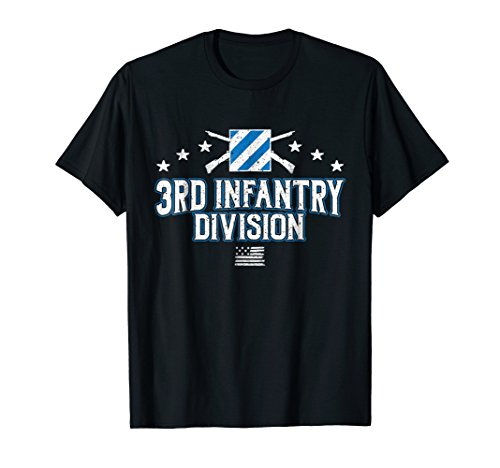 US Army 3rd Infantry Division Patch Mens T-Shirt