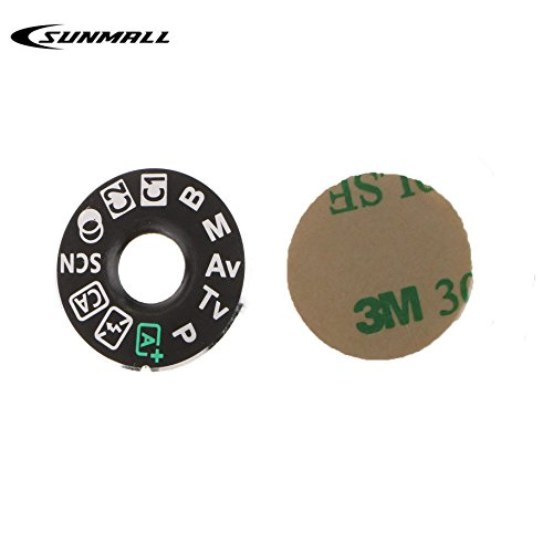 SUNMALL Interface Cap Button Replacement Part For Canon EOS 80D,Dial Mode Plate for canon EOS 80D, Digital Camera Repair Accessories for canon EOS 80D(6 Months Warranty)