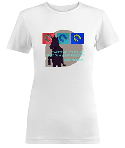 Bojack Horseman I Need You To Tell Me That Im A Good Person Quote Damen T-shirt