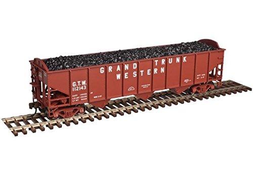 Ton 3 Bay Open Hopper - Atlas O ATO2001817 O Trainman 70-Ton 3-Bay Open Hopper, GTW