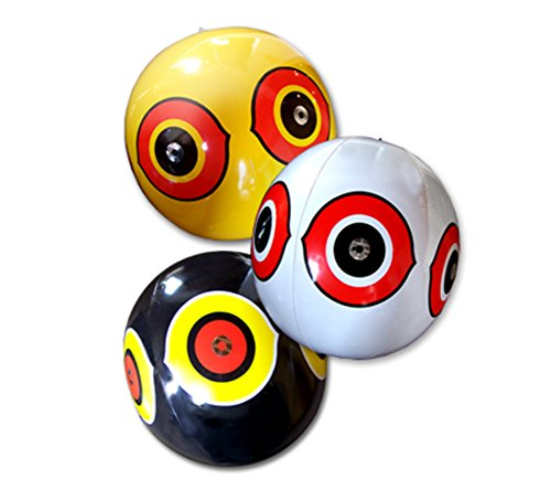 Bird-X Scare-Eye Bird Repellent Predator Eyes Balloons, Pack of 3 (Balloon Eye Scare)