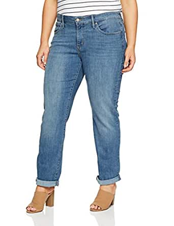 Levi's Women's 314 Plus Size Shaping Straight, Indigo Anomaly, 18 M