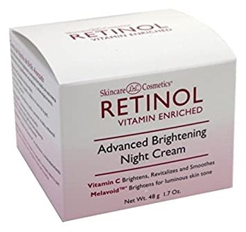 Skincare Retinol Advanced Brightening Night Cream 1.7oz 2 Pack