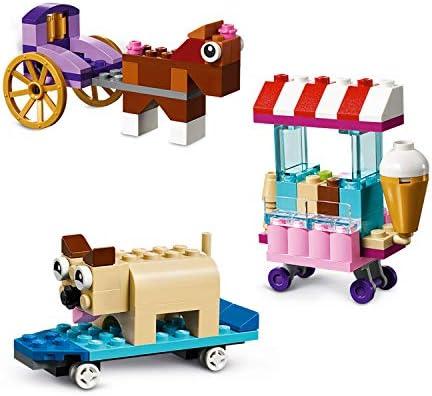 LEGO 10715 Classic Kreativ-Bauset Fahrzeuge, Spielzeug