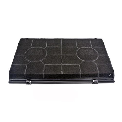 Filtre charbon rectangulaire fat190 hotte whirlpool akr429/nb
