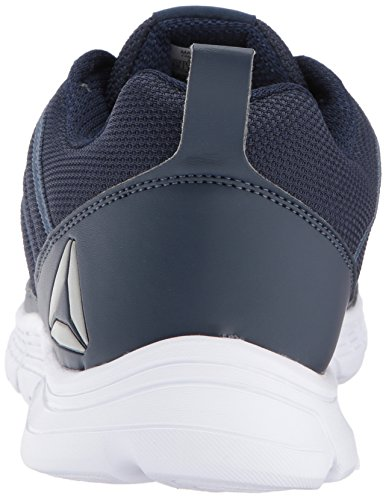 ... Reebok Menns Speedlux 2,0 Sneaker Kollegialt Navy / Røykfylt Indigo ...