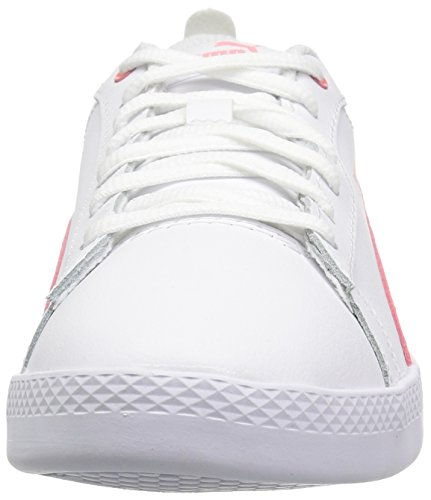 Zapatillas De Deporte Puma Mujeres Smash Wns V2 Leather Puma White-shell Pink