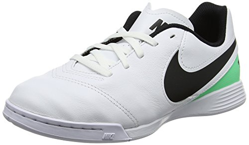 NIKE Youth Tiempox Legend VI Indoor Shoes [White] (5Y)