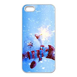 LJF phone case Merry Christmas fashion practical Phone Case for iPhone 5S(TPU)