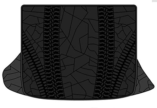 Kaungka Rubber Cargo Liner Rear Cargo Tray Trunk Floor Mat Waterproof Protector for 2019 Jeep Cherokee