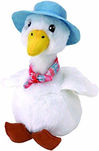 Ty Beanie Babies Beatrix Potter 42280 Peter Rabbit Jemima Puddle Duck Beanie (Puddles Stuffed Animal)