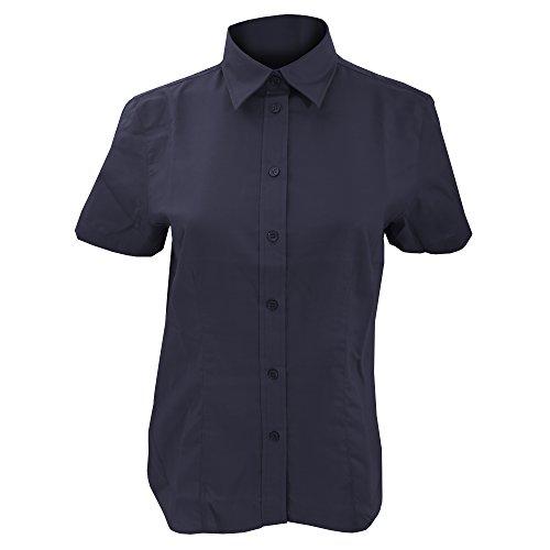 KUSTOM KIT Ladies Workwear Oxford Short Sleeve Shirt (24 US) (Kustom Kit)