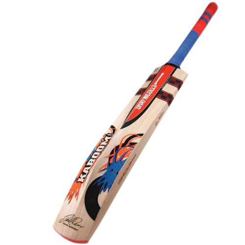 Gray-Nicolls Kaboom Warner GN4.5 English Willow Cricket Bat 2015-16, Full Size SH by Gray-Nicolls