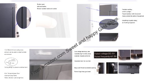 135L Electronic Automatic Digital Control Dry Box Cabinet Storage for Camcorder Dslr Camera Lens DC Etc