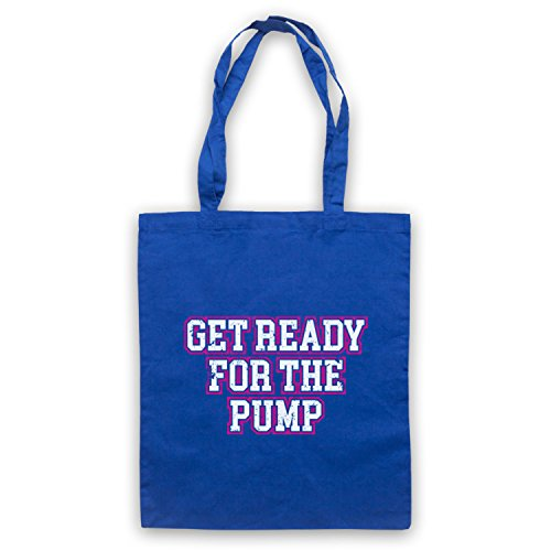 Get Slogan For Workout The Bodybuilding Bolso Ready Pump Azur Real RW6nrxORq