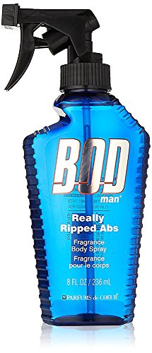 Parfums De Coeur Bod Man Really Ripped Abs Fragrance Body Spray 8 oz