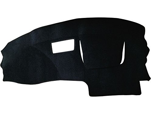 Hex Autoparts Dash Cover Mat Dashboard Pad Black for Chevy Cavalier 1995-2005 (Black)
