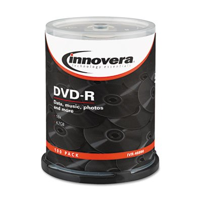 Innovera 46890 Innovera DVD-R Recordable Disc IVR46890 IVR 46890 by Innovera
