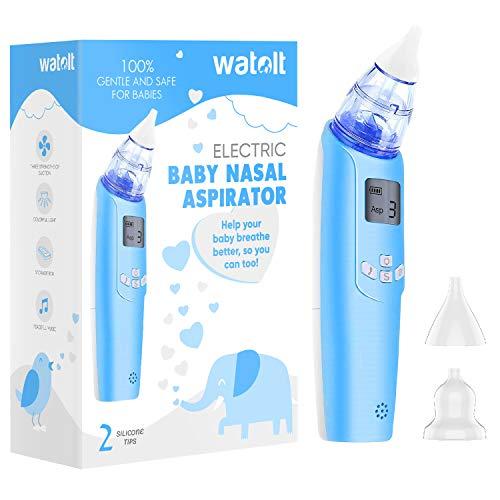 Electric Baby Nasal Aspirator Safe Hygienic Booger Cleaner For Infant Toddler