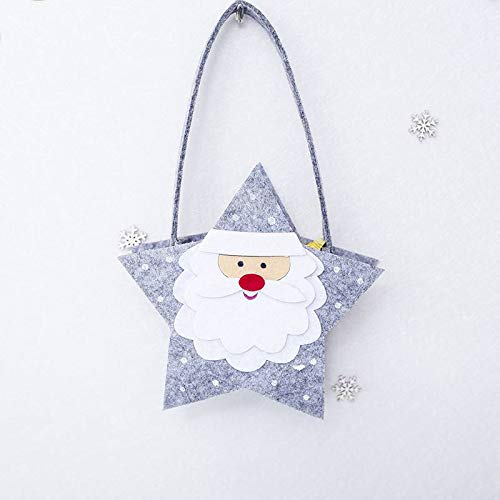 Trees - Christmas Gift Felt Candy 4 Styles Holder Holiday Costumes Party Decorations - Year Candy Clip Outfit Hair Kids Years Winter Long Crown Dresses Material Headband Party Girl Casual -