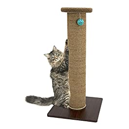 Kitty City XL Wide Premium Scratching Woven Sisal Carpet Collection,Scratching Mat, Cat Toys, Cat Tunnel