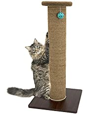 Kitty City Premium Woven Sisal Carpet Scratching Cat Toy Collection, Scratching Mat, Cave Tunnel Cat Furniture