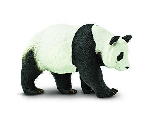 Safari Ltd Wildlife Wonders – Panda – Realistic Hand Painted Toy Figurine Model – Quality Construction from Safe and BPA Free Materials – For Ages 3 and Up – Large
