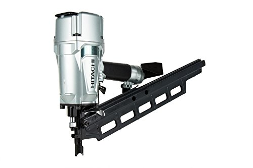 "Hitachi NR83A5 3-1/4"" Plastic Collated Framing Nailer with Rafter Hook from Hitachi"