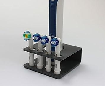 Spazzolino elettrico testa del supporto per testine 4x (colori assortiti) Clear Plastic Online Ltd
