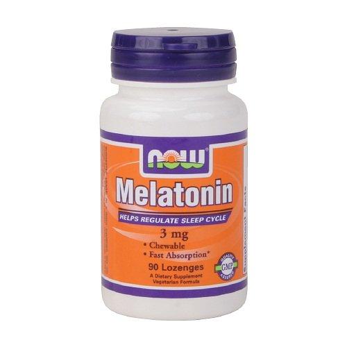Melatonin, 3mg, Chewable Lozenges 90 ea