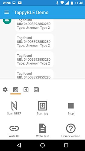 TappyBLE - All-in-One NFC Reader, Writer, and Emulator with - Import