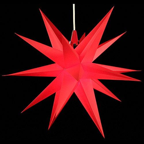 Annaberger Faltstern - Weihnachtsstern - Rot 60cm Erzgebirge