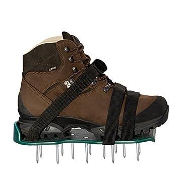 Ganz und zu Extrem UPP Rasen-Lüfter-Schuhe 1 Paar inkl. 3 Riemen/Rasenbelüfter &CU_25