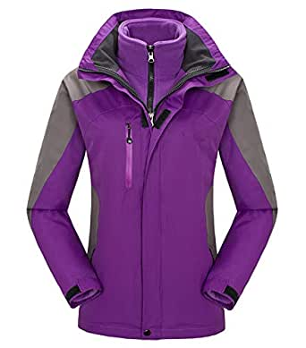 Amazon.com: Fuwenni Women's Waterproof Ski Jacket